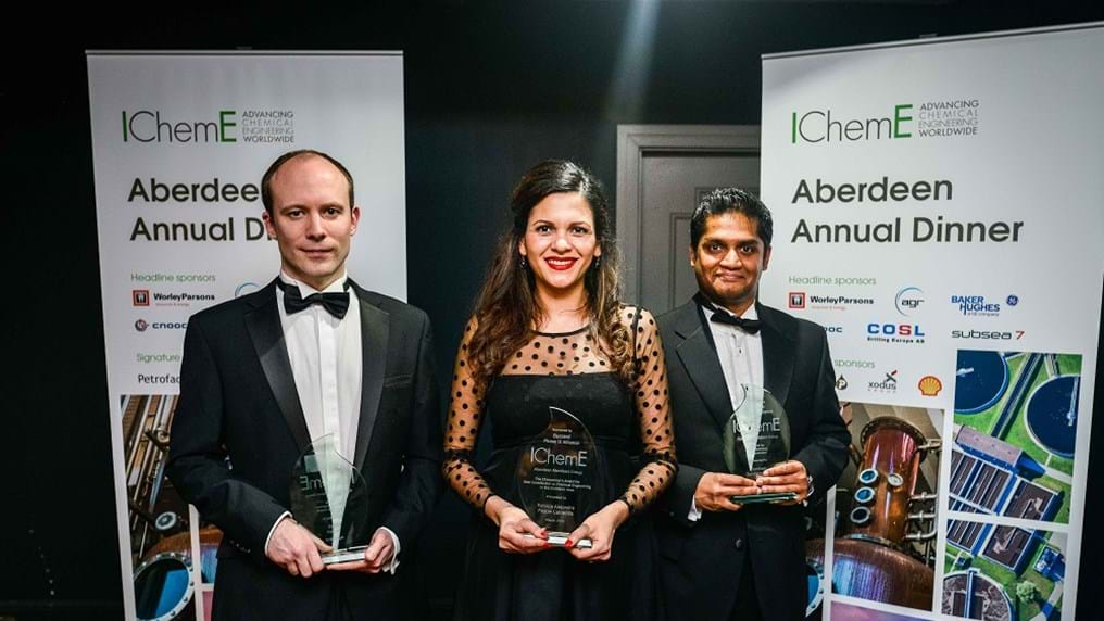 Celebrating chemical engineering achievement in Aberdeen