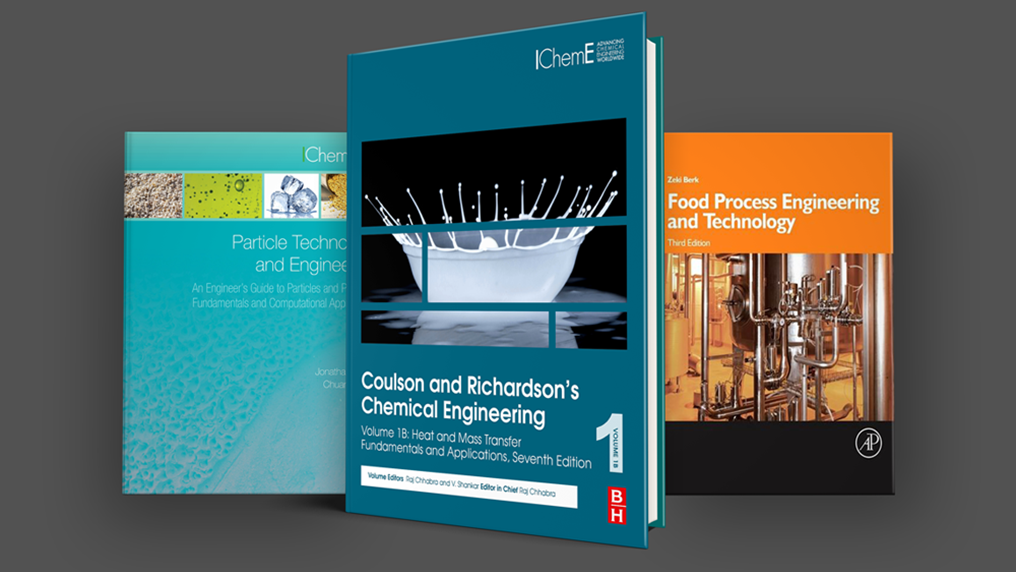 New chemical engineering books available to IChemE members