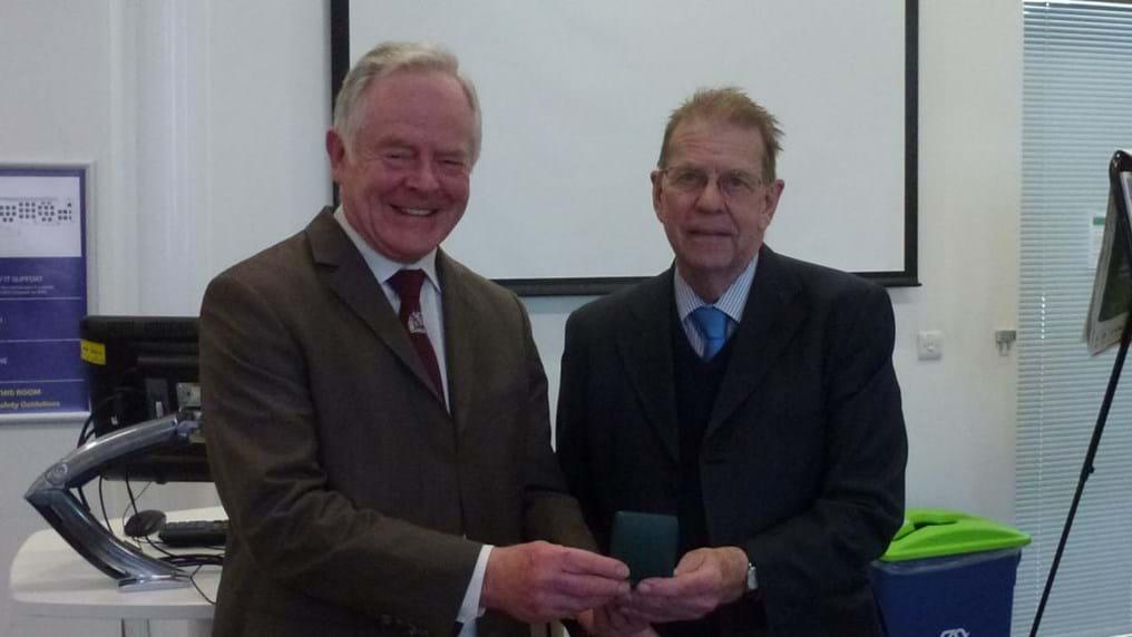 Leading gasification expert awarded IChemE medal