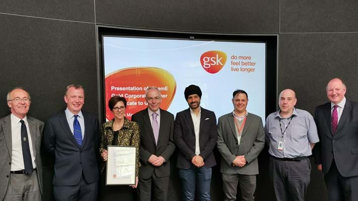 IChemE announces GSK as its newest Gold Corporate Partner
