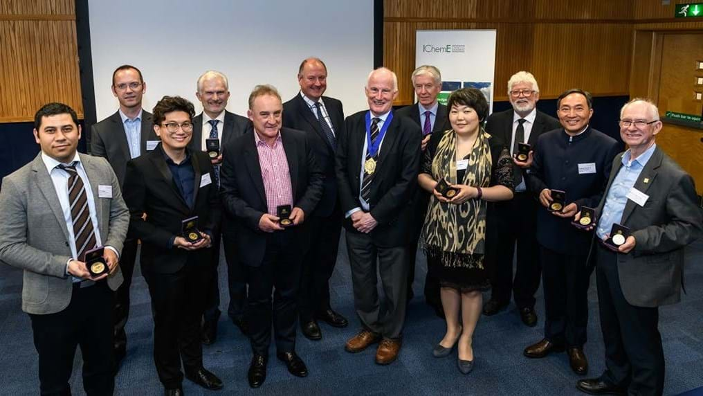 Chemical engineers awarded medals for inspirational mentorship and research