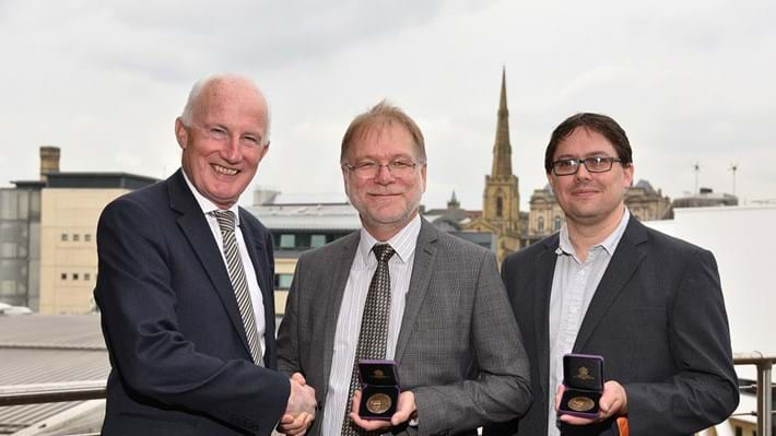 Huddersfield University professors awarded IChemE medal