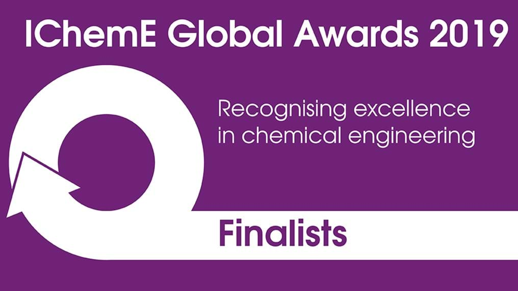Finalists announced for the IChemE Global Awards 2019