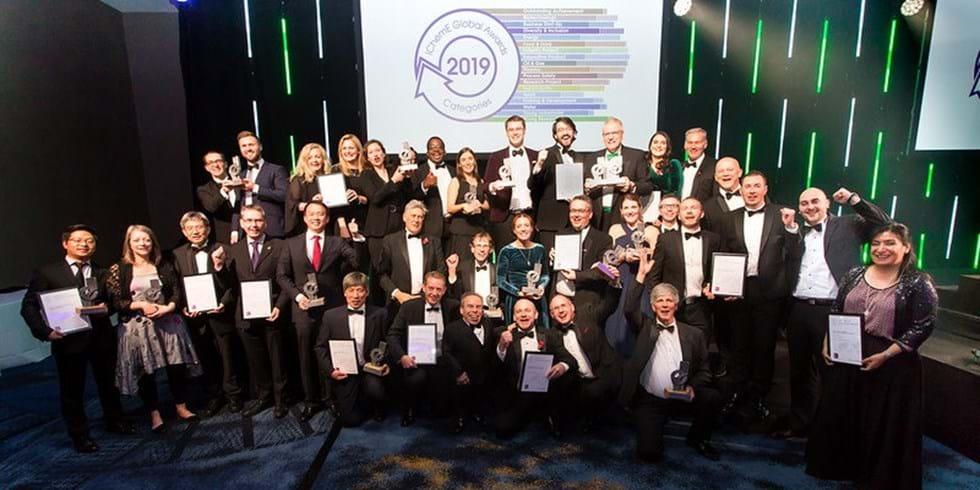 Winners of the IChemE Global Awards 2019
