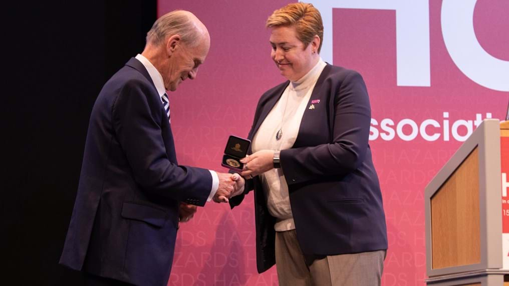 Medals for excellence in process engineering presented at Hazards 28