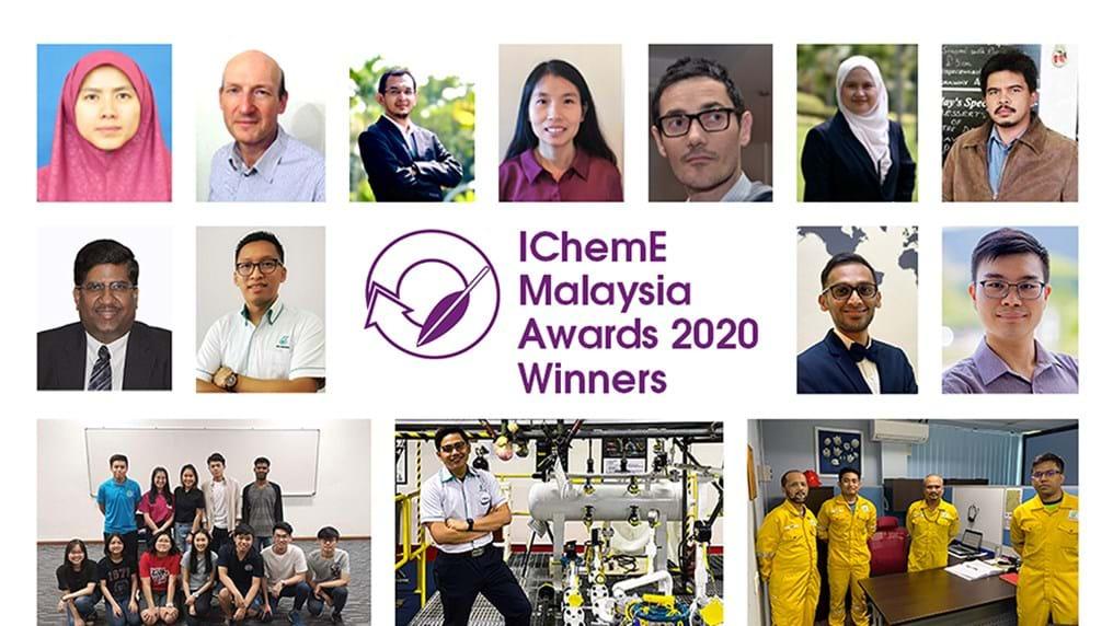 Big night for PETRONAS at first ever virtual IChemE Malaysia Awards