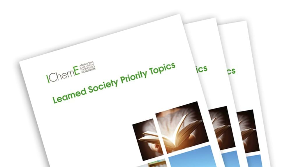Responsible production, major hazards and digitalisation focus for IChemE Learned Society