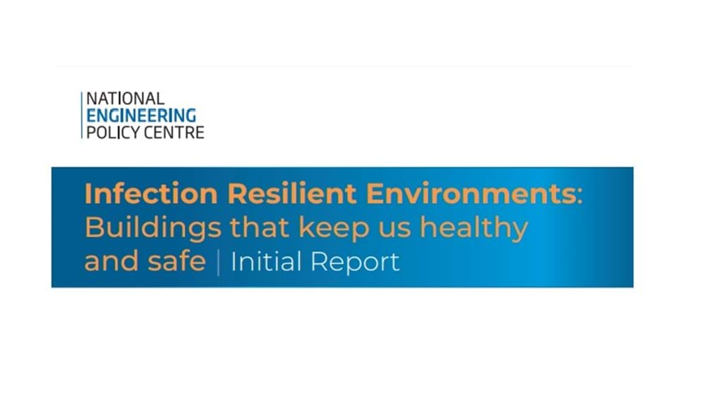Improved ventilation crucial to safe use of buildings and public spaces, say leading engineers