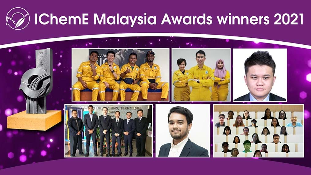 Sustainable and digital projects win big at IChemE Malaysia Awards 2021