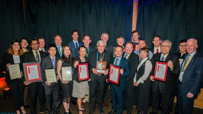 Australian and New Zealand chemical engineers recognised with awards at Chemeca 2018