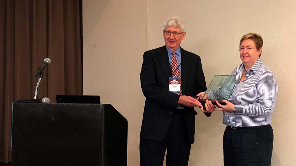 Safety Centre Director presented with Trevor Kletz Merit Award