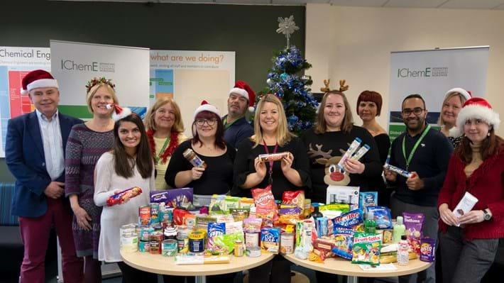 IChemE supports Rugby Foodbank with Alternative Advent Calendar