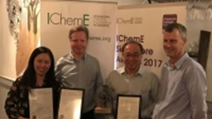 Singapore safety initiative secures global award from IChemE