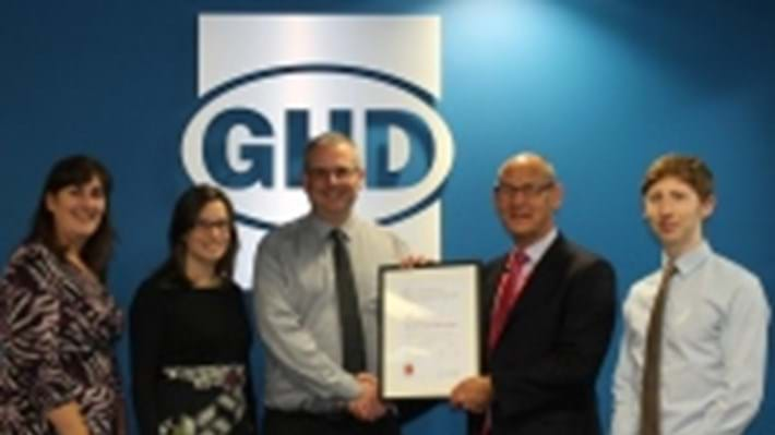 GHD awarded Bronze Corporate Partner status for commitment to engineering excellence