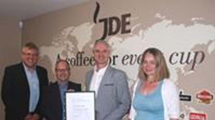 Bronze success for Jacobs Douwe Egberts