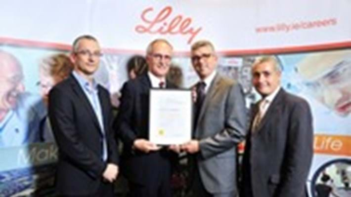 Lilly awarded Gold for their support of Irish engineering community