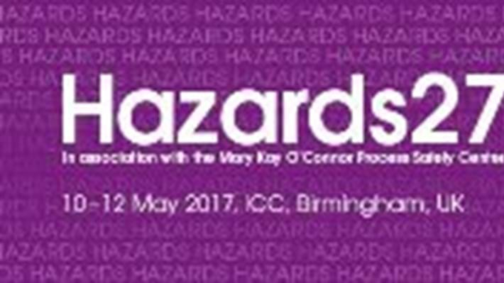 Hazards 27 to focus on process safety application in a variety of industries