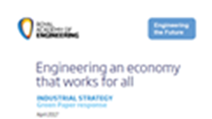 Industrial strategy should develop National Innovation Assets network to boost innovation, says UK engineering profession