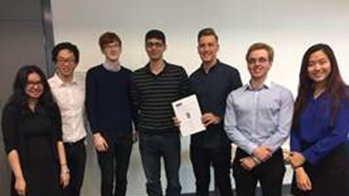 Manchester chemical engineers are three-time champions