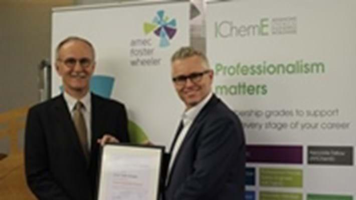 Amec Foster Wheeler strikes gold with IChemE partnership