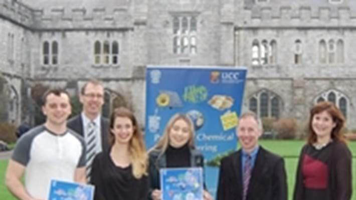 Chemical engineers at University College Cork win teaching award